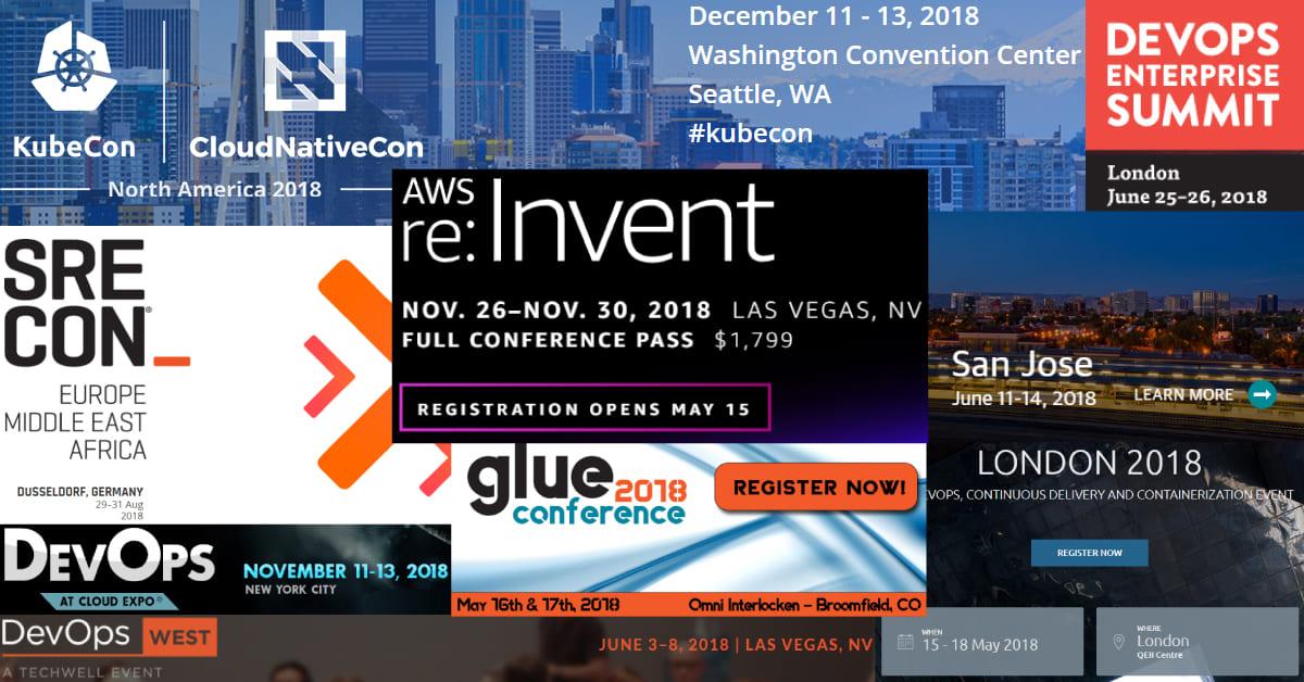 Top DevOps Conferences for 2018 from ITSvit