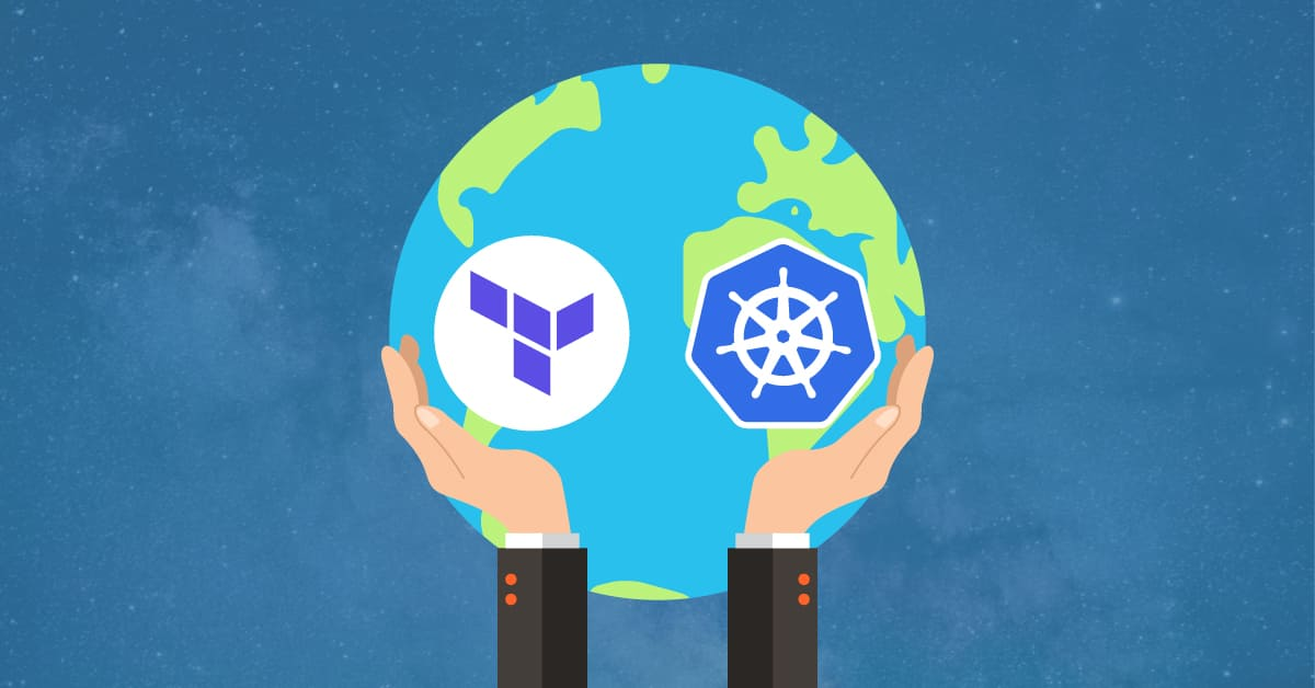 How to use Terraform and Kubernetes to manage the IT worlds